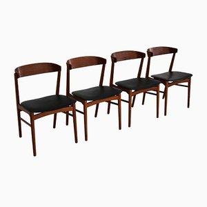 Esszimmerstühle von Kai Kristiansen, 1960er, Set of 4