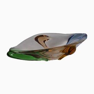 Art Glass Rhapsody Vase by Frantisek Zemek for Mstišov, 1950s