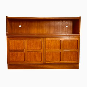 Small English Teak Sideboard from Nathan, 1960s