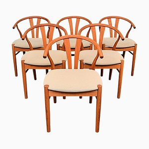 Vintage Danish Dining Chairs from Findahls, Set of 6