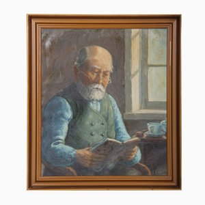Friedrich Ellgaard, 1896, Gemälde