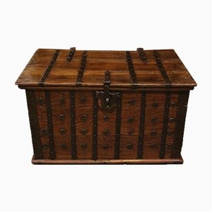 Small Antique Colonial Chest