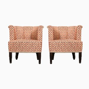 Austrian Alleegasse Lounge Chairs by Josef Hoffmann for Wittmann, 1990s, Set of 2