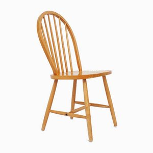 Mid-Century British Solid Pine Dining Chair by Lucian Ercolani for Ercol