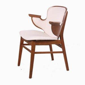 Danish 107 Shell Lounge Chair by Hans Olsen for Bramin, 1958