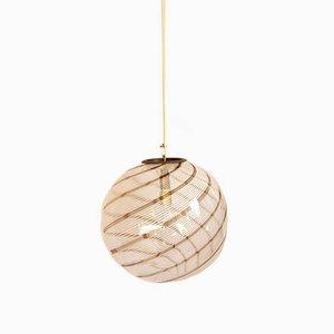 Italian Murano Glass Vertigo Pendant Lamp, 1960s