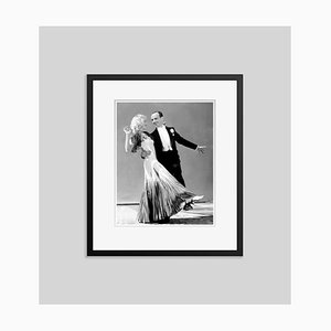 Fred & Ginger Archival Pigment Print Framed in Black by Everett Collection