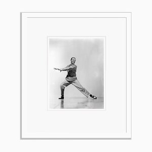 Fred Astaire Mid Dance Routine Archival Pigment Print Framed in White by Everett Collection