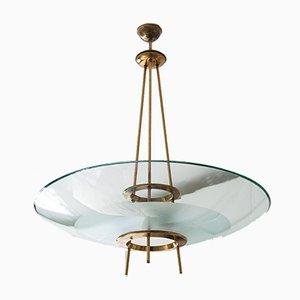 Italienische Deckenlampe von Stilnovo, 1950er
