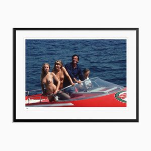 The High Life Framed in Black by Slim Aarons
