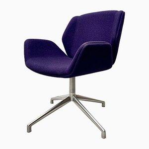Chaise Pivotante Kruze Vintage Violette de Boss Design Ltd