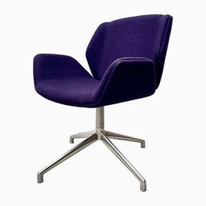 Vintage Purple Swivel Kruze Chair from Boss Design Ltd