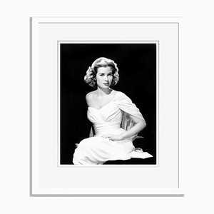 Elegant Grace Archival Pigment Print Framed in White by Everett Collection