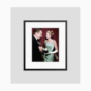 Cadran primé Edmond O'brien & Grace Kelly Encadré en Noir par Everett Collection