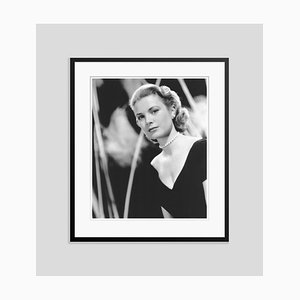 Grace Kelly Archival Pigment Print Framed in Black by Everett Collection