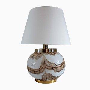 Italienische Vintage Murano Glas Tischlampe, 1970er