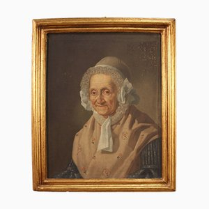 Portrait, Huile sur Toile, 19ème Siècle