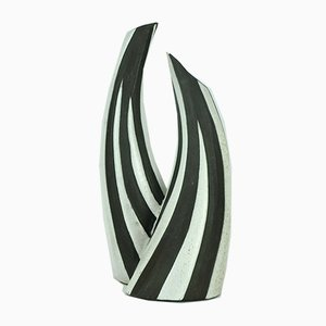 Danish Double-Necked Negro Series Vase by Marianne Starck for Michael Andersen, 1960s