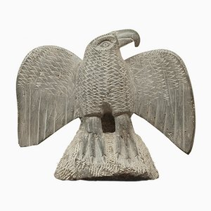 Stone Eagle Sculpture, 1950s