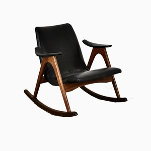 Rocking Chair by Louis van Teeffelen for WéBé, 1960s