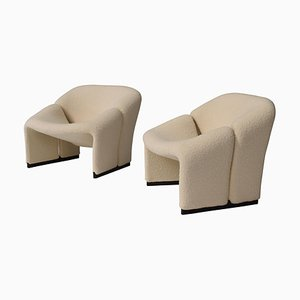 F598 Groovy Armchairs by Pierre Paulin for Artifort, 1972, Set of 2