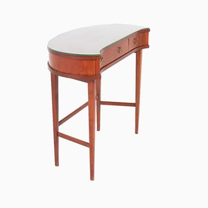Swedish Modern Mahogany Dressing Table, 1950s