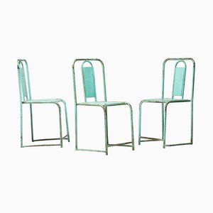 French Café Chairs, Set of 3