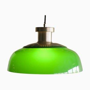 Model 4017 Green Pendant Lamp by Achille Castiglioni for Kartell