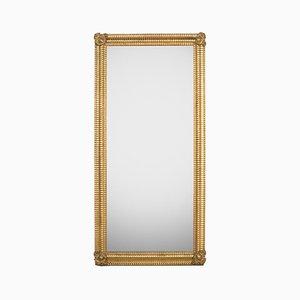 Rectangular Ribbed Mirror
