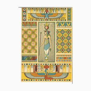 Unknown, Decorative Motifs of the Egyptian Renaissance, Chromolithograph, 20th Century