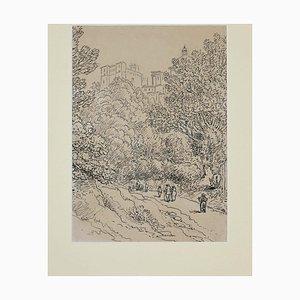 Unbekannt, Unterwegs nach Lanciano, China Ink, 18. Jahrhundert
