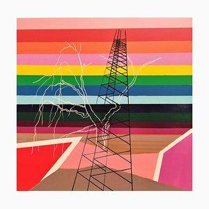 Mauro Bellucci, Untitled, Enamel Painting, 2020