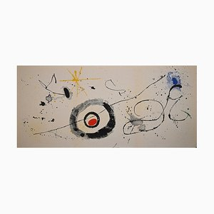 Joan Miró, Untitled, Lithograph, 1961