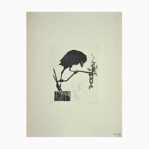 Leo Guida, The Raven, Radierung auf Papier, 1972