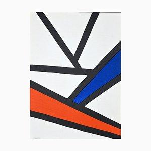 Alexander Calder, Composition, Lithograph, 1968