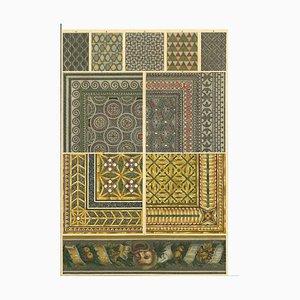 Unknown, Roman Decorative Motifs, Vintage Chromolithograph, Early 20th Century