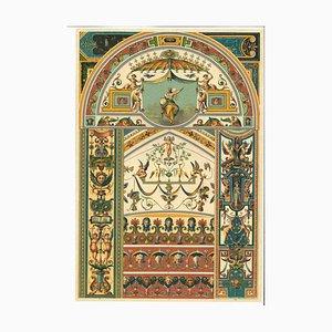 Unbekannte, Dekorative Motive, Vintage Chromolithographie, Frühes 20. Jahrhundert