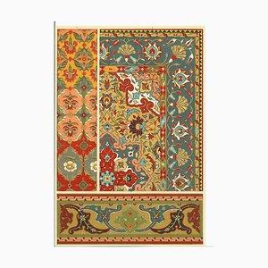 Sconosciuti, Motivi decorativi del Rinascimento persiano, Chromolithograph, XX secolo