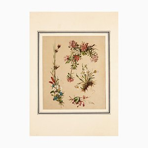Unknown, Flowers, Chromolithograph, Early 20th Century