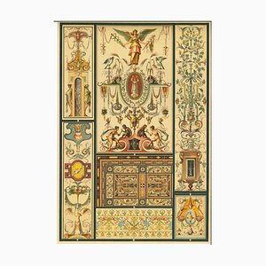 Unknown, Decorative Motifs of the German Renaissance, Chromolithograph, 20th Century