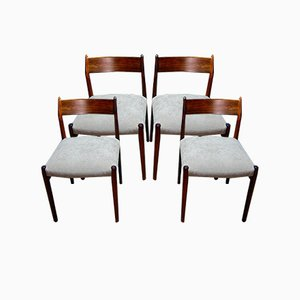 Chairs by Arne Vodder, Set of 4