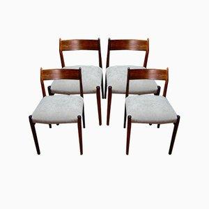 Stühle von Arne Vodder, 4er Set