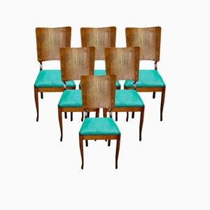Oak Chairs, Set of 6