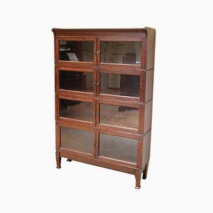 Oak Four Section Bookcase