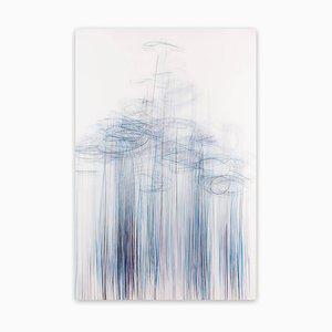 Thaw 3, Disegno astratto, 2017