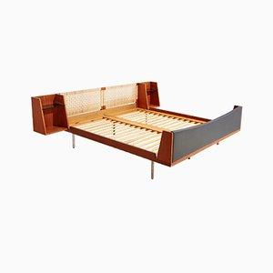 Modell 701 Teak Doppelbett von Hans J. Wegner für Getama