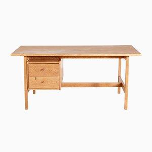 Ge 125 Oak Writing Desk by Hans J. Wegner for Getama