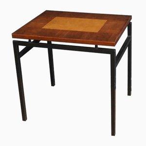 Vintage Coffee Table with Veneer Top