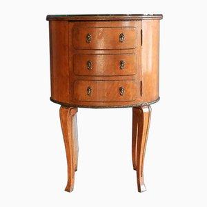 Vintage Oval Cabinet