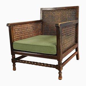 Niedriger Stuhl mit Gurtband-Seite